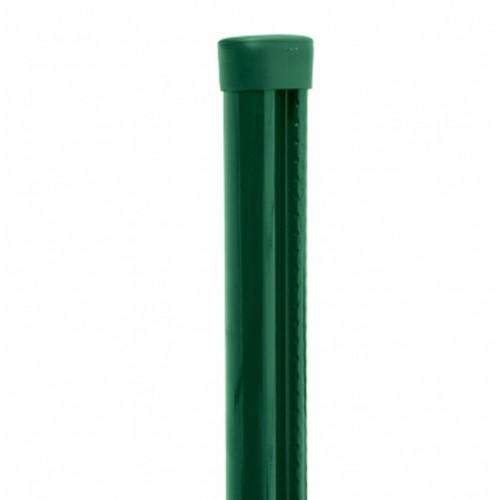 Plotový stĺpik MATCLIP Ø 48 mm  s montážnou lištou
