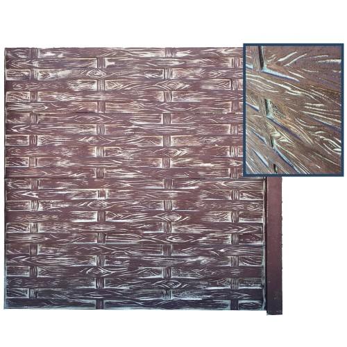 Imitácia dreva - Hnedá