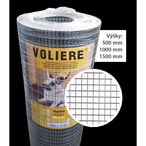 Voliere 16x16 MM / Ø0,90 MM